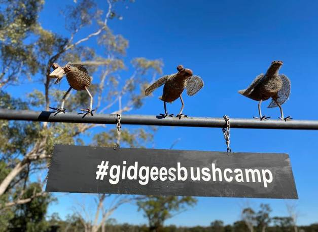 Gidgee Smith Bags & Gidgee's Bush Camp