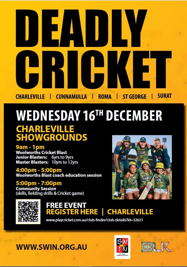 Charleville Deadly Cricket